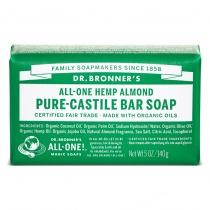 Dr.Bronner's Castille Almond Organic Soap Bar 140g
