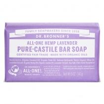 Dr.Bronner's Castille Lavender Organic Soap Bar 140g