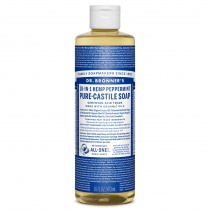 Dr.Bronner's Castille Peppermint Organic Liquid Soap 472ml