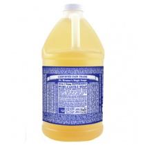Dr.Bronner's Castille Peppermint Organic Liquid Soap 3.78 litres