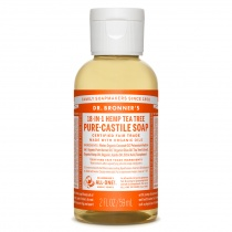 Dr.Bronner's Castille Tea Tree Liquid Soap 59ml