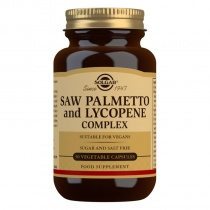 Solgar Saw Palmetto and Lycopene Complex Vegetable Capsules - Pack of 50