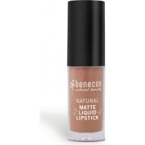 Benecos Natural Matte Liquid Lipstick Desert Rose 5ml