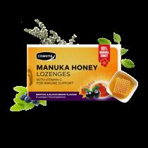 Comvita Manuka honey with b/currant & vit C 8 Lozenges