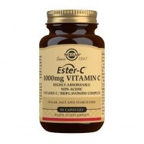 Solgar Ester-C Vitamin C 1000 mg Capsules - Pack of 90