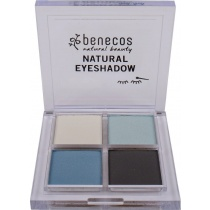 Benecos Natural Quattro Eye Shadow True Blue 8g
