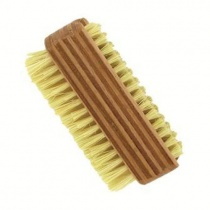Forsters Beech Wood Double Sided Nail Brush Natural Bristle