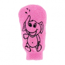 Forsters Cotton Kids Wash Glove printed with Funny Motives Large