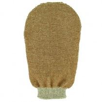 Forsters Massage Glove Double Sided Organic Linen & Cotton