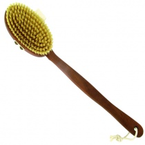 Forsters Massage Brush (detachable handle) Pear Tree & Natural Bristles