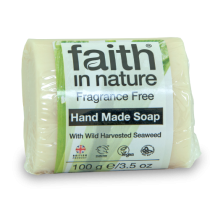 Faith in Nature Fragrance Free Seaweed Soap 100g