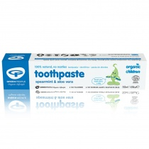 Green People Childrens Spearmint & Aloe Vera Toothpaste 50ml