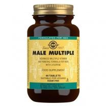 Solgar Male Multiple Multivitamin Tablets - Pack of 60