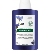 Klorane Centaury Anti-Yellowing Shampoo for Grey, Blonde Hair 200ml