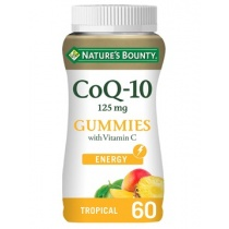 Nature's Bounty CoQ-10 125 mg Gummies with Vitamin C 60 Gummies