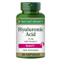 Nature's Bounty Hyaluronic Acid 20 mg with Vitamin C 30 Capsules