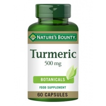 Nature's Bounty Turmeric 500 mg 60 capsules