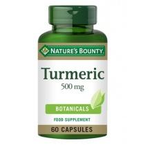 Nature's Bounty Turmeric 500 mg 60 capsules