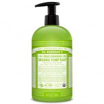 Dr.Bronner's Organic Shikakai Lemongrass Lime Hand Soap 709ml