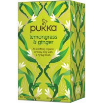 Pukka Lemongrass & Ginger Herbal Tea x 20 bags