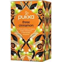 Pukka Three Cinnamon Herbal Tea x 20 bags