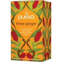 Pukka Three Ginger Herbal Tea x 20 bags