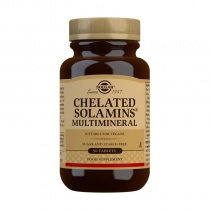 Solgar Chelated Solamins Multimineral Tablets - Pack of 90