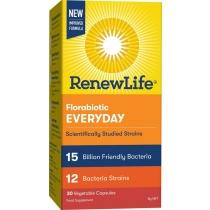 Renew Life Florabiotic Everyday 15Bn 30 Capsules