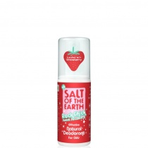 Salt of The Earth Rock Chick Sweet Strawberry Natural Deodorant Spray for Girls 100ml
