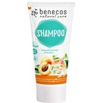 Benecos Natural Hair Shampoo Apricot and Elderflower 200ml