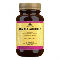 Solgar Female Multiple Multivitamin Tablets - Pack of 60