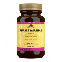 Solgar Female Multiple Multivitamin Tablets - Pack of 120