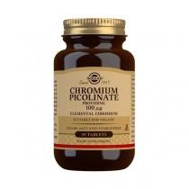 Solgar Chromium Picolinate 100 mcg Tablets - Pack of 90