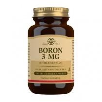 Solgar Boron 3 mg Vegetable Capsules - Pack of 100