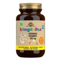 Solgar Kangavites Natural Orange Burst Vitamin C 100 mg Chewable Tablets - Pack of 90