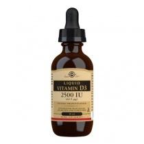 Solgar Liquid Vitamin D3 2500 IU (62.5 mcg) - Natural Orange Flavour - 59ml