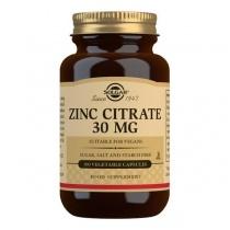 Solgar Zinc Citrate 30 mg Vegetable Capsules - Pack of 100