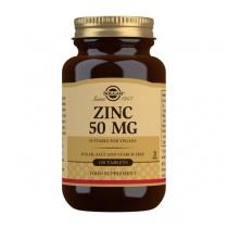 Solgar Zinc 50 mg Tablets - Pack of 100