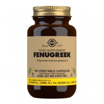 Solgar Fenugreek Vegetable Capsules - Pack of 100