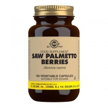 Solgar Saw Palmetto Berries Vegetable Capsules - Pack of 100