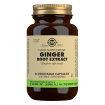 Solgar Ginger Root Extract Vegetable Capsules - Pack of 60