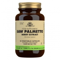 Solgar Saw Palmetto Berry Extract Vegetable Capsules - Pack of 60