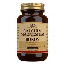 Solgar Calcium Magnesium Plus Boron Tablets - Pack of 100
