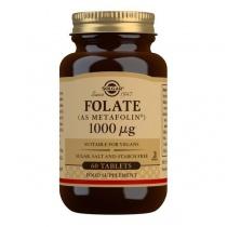 Solgar Folate (as Metafolin) 1000 mcg Tablets - Pack of 60