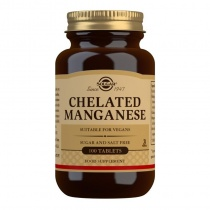 Solgar Chelated Manganese Tablets - Pack of 100