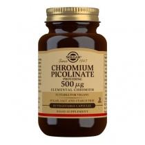 Solgar Chromium Picolinate 500 mcg Vegetable Capsules - Pack of 60