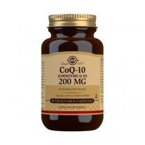 Solgar CoQ-10 200 mg Vegetable Capsules - Pack of 30