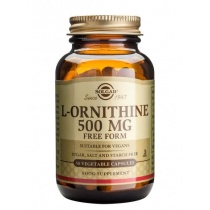 Solgar L-Ornithine 500mg 50 V Caps