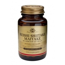 Solgar Reishi Shiitake Maitake Mushroom Extract 50 V Caps