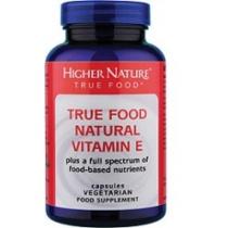 Higher Nature True Food Natural Vitamin E 90 tabs